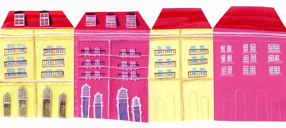 Lisbon, collage