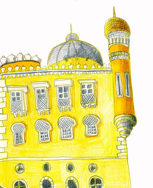 Lisbon, sketch